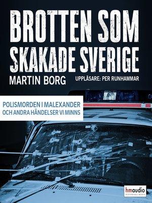 cover image of Brotten som skakade Sverige, del 2