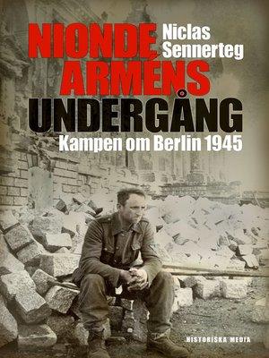 cover image of Nionde arméns undergång