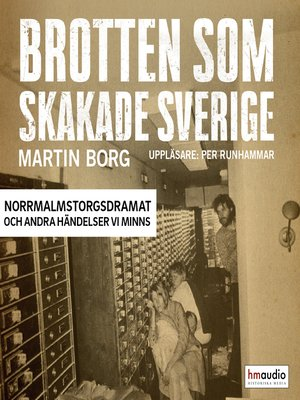 cover image of Brotten som skakade Sverige, del 1