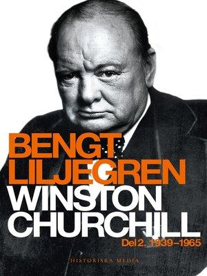 cover image of Winston Churchill. Del 2, 1939-1965