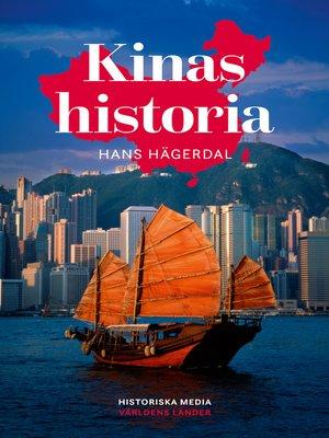 cover image of Kinas historia