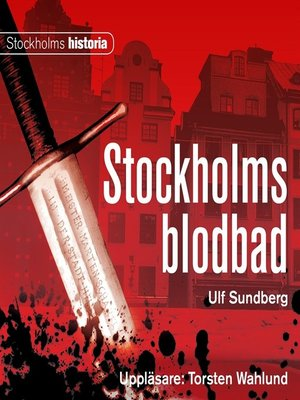 cover image of Stockholms blodbad