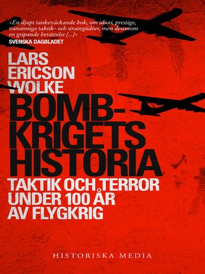 cover image of Bombkrigets historia