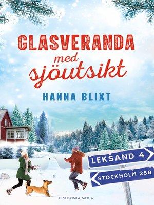 cover image of Glasveranda med sjöutsikt