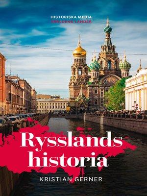 cover image of Rysslands historia