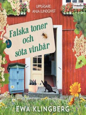 cover image of Falska toner och söta vinbär