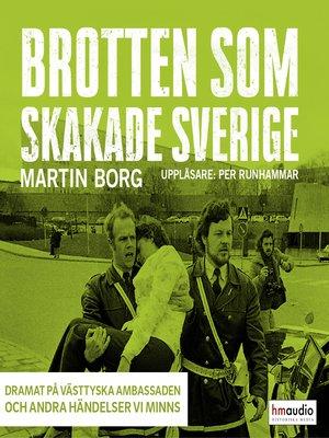 cover image of Brotten som skakade Sverige, del 4