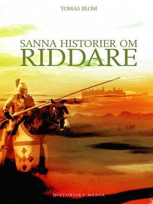 cover image of Sanna historier om riddare