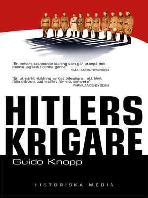 cover image of Hitlers krigare