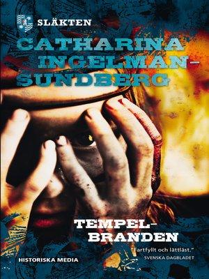cover image of Tempelbranden