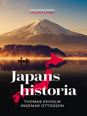 cover image of Japans historia