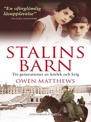 cover image of Stalins barn