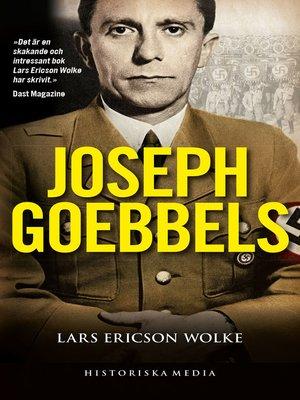 cover image of Joseph Goebbels