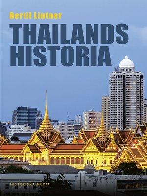 cover image of Thailands historia
