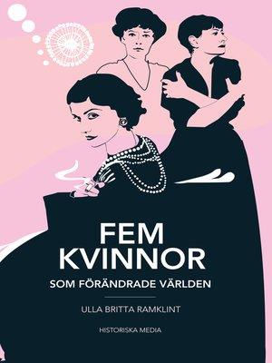 cover image of Fem kvinnor