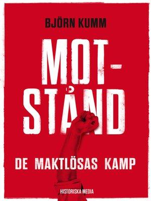 cover image of Motstånd