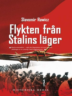 cover image of Flykten från Stalins läger