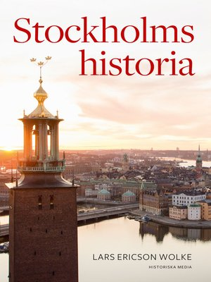 cover image of Stockholms historia