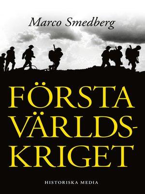 cover image of Första världskriget