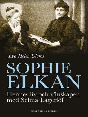 cover image of Sophie Elkan