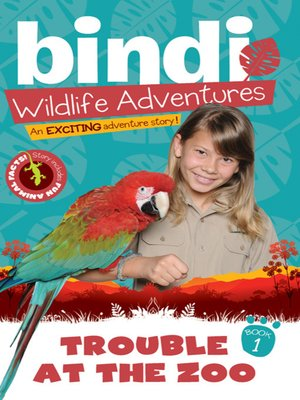 cover image of Trouble at the Zoo