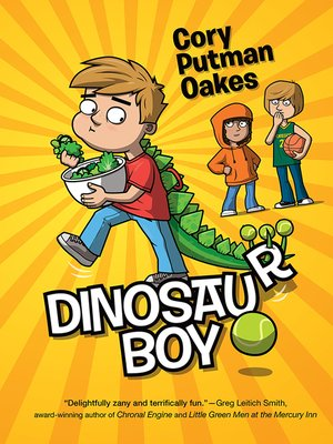 cover image of Dinosaur Boy