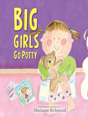 cover image of Big Girls Go Potty