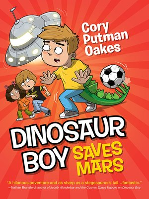 cover image of Dinosaur Boy Saves Mars