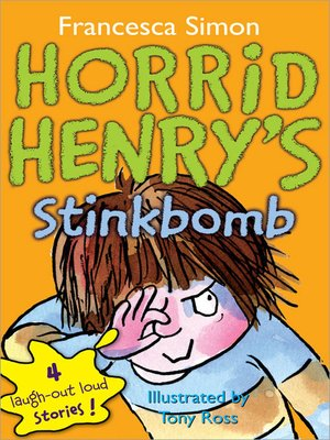 cover image of Horrid Henry's Stinkbomb