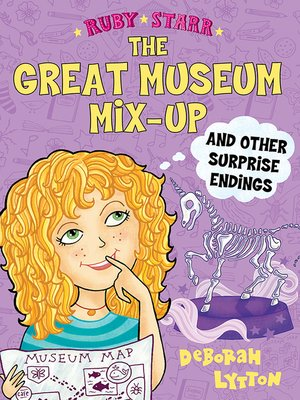 cover image of The Great Museum Mix-Up and Other Surprise Endings