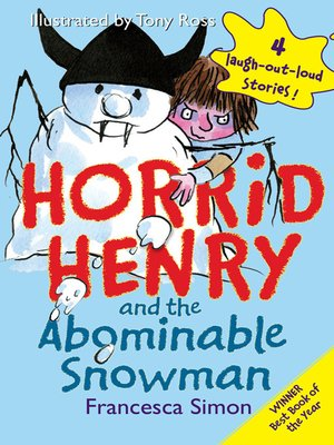 cover image of Horrid Henry and the Abominable Snowman