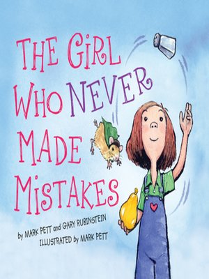 cover image of The Girl Who Never Made Mistakes