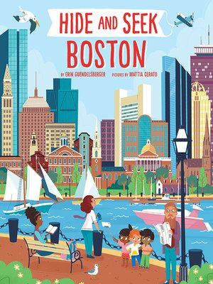 cover image of Hide and Seek Boston