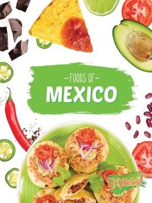 cover image of Foods of Mexico