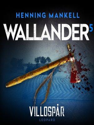 cover image of Villospår