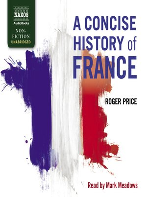 cover image of A Concise History of France